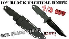 "10"" Tactical Knife - Moulded Case | KnifeWarehouse.co.uk"