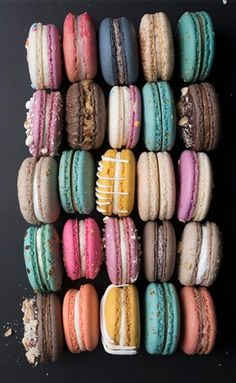 A sweet treat | French macarons.