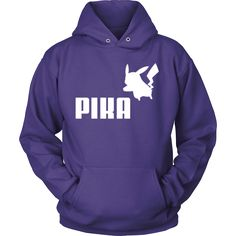 Can't get enough of Pikachu? This must-have Pokemon Pika hoodie should be yours then!