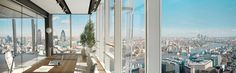 renzo piano: the shard woo!!! panoramic view from your office