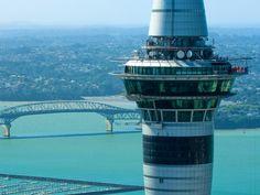 Skywalk e Skyjump: Adrenalina na torre de Auckland