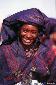 Tuareg woman, Mali.