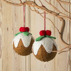 Christmas Pudding Tree Bauble - view all sale items