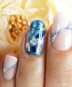 Need that nail design Unicorn Nails, Japanese Nails, Nail Envy, Nail Games, Shellac Nails, Fabulous Nails, Cool Nail Designs, Blue Nails, Nails Inspiration