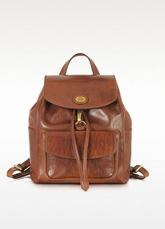 7296d51ea3 The Bridge Story Donna Marrone Leather Backpack at FORZIERI Brown  Backpacks