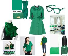 @Meredith Sinclair shows us how to rock the #Pantone Color the Year: #Emerald