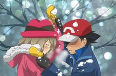 Ash x Serena (Fight of Love) by WillDynamo55 on DeviantArt