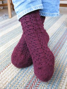 January Girls Socks - Free on Ravelry