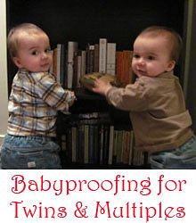 Babyproofing for twins and multiples #safety #twins #multiples