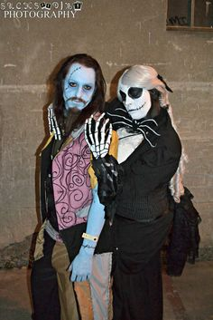 Jack and Sally from Nightmare Before Christmas Photo by Suckseeding…