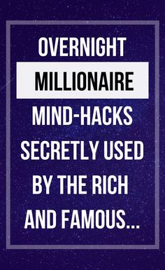 In This Video A Millionaire teaching simple millionaire mind hacks that helped him to become millionaire and manifest $30 Million in one year... this video change your life!  #millionairemindset Best Motivational Videos, Motivational Speeches, Inspirational Quotes, Become A Millionaire, Law Of Attraction Tips, Quick Money, Mind Tricks, How To Become Rich, Life Inspiration