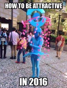 Pokemon lure Halloween costume