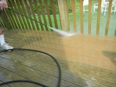 Thinking of washing your own deck with a pressure washer? I just posted a new blog about the best way to power wash your deck. Follow my guidance for the best possible results. Express Caution: You can ruin your deck if you are not careful especially if the pressure washer is powerful. This could end up costing you more if the end. Consider hiring a professional power washer company like Nu Life Cleaning Services. They offer a 100% satisfaction warranty. That way you know you're protected…