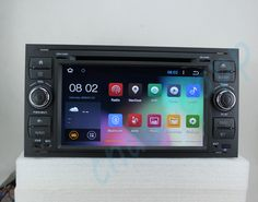 Android 4.4.4 Car DVD Player GPS Car Radio Cortex A9 (1.6Ghz) Quad-Core CPU 4-Core CPU WIFI For Ford Focus C-max Fiesta Fusion