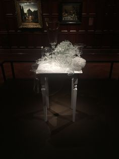 Glass art work has never seized to blow my mind, the entire piece is made of glass... amazing.