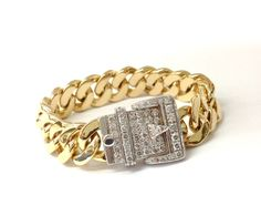 Yellow and White gold with diamonds. @NOL Jewellers