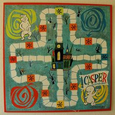 Vintage children's game board