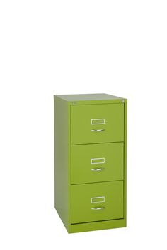 Bisley three drawer filing cabinet