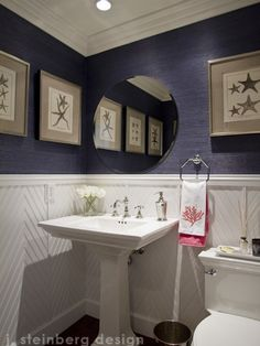 @Deb Stephens...Garry is gonna so love me...bhahaha  Chevron Bathroom Design, Pictures, Remodel, Decor and Ideas