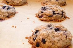 Berry Delicious Crumb Muffin Tops. Made with So Delicious Almond Plus Almond Milk.