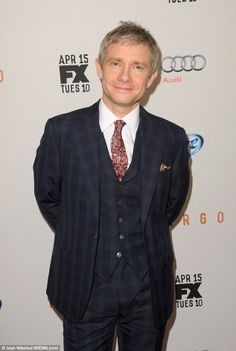 Martin at the FX Upfront premiere screening of the series Fargo (via the Daily Mail)