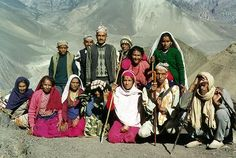 Random mountain family at 14,000 feet, Annapurna Nepal, Nepal, Nepal travel, nepal photo