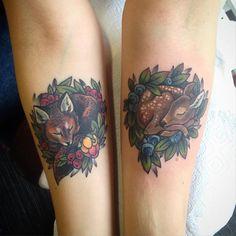 Fox healed, fawn today's, coverup #tattoo #ink #wowtattoo #workplacetattoo #tattooinrussia #tattoolife #supportgoodtattooing #eternalink #worldfamousink #cloudberry #blueberry #fawn #deer #fox #colourtattoo #foxtattoo #deertattoo #sleepingfox #sleepingfawn #minitattoo #healedtattoo #coverup