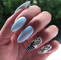 Light Blue Nails, Nail Designs, Nail Art, Beauty, Nail Desings, Nail Arts, Beauty Illustration, Nail Art Designs, Nail Design