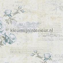 Vintage rules 136 138212 van esta home fantasie behang met for Bloemen behang praxis