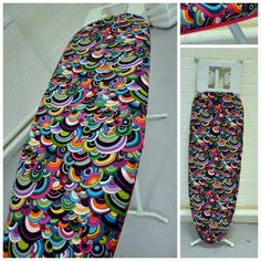 How to sew an ironing board cover using fold-over-elastic