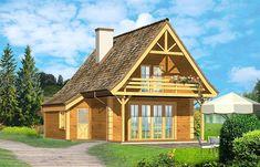 Zdjęcie projektu Chatka drewniana WAH1156