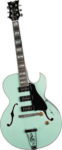 Dean Palomino Electric Guitar Sea Green-- Gorgeous color. Want this so bad!