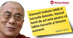 am zis ca sint omul care putea traii in mediul lui foarte frumos Dalai Lama, Motto, Wise Words, Einstein, Reading, Quotes, Books, Image, Motivational