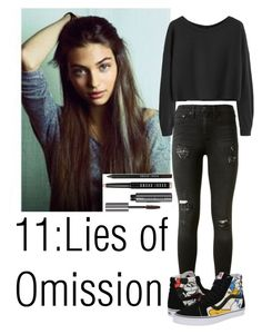 """Teen wolf"" by teddy-bear-princess on Polyvore featuring Mode, Magdalena, rag & bone, Vans und Bobbi Brown Cosmetics"