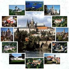 CZECH REPUBLIC - Manors, Castles, Historical Towns