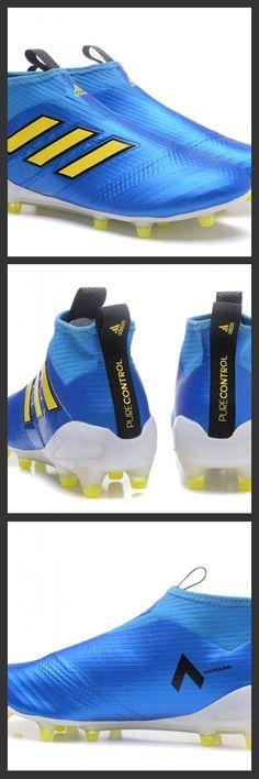 separation shoes 9d48a b9ca7 Nuove Adidas Calcio ACE 17+ Mastercontrol FG Per Uomo Blu Giallo Bianco