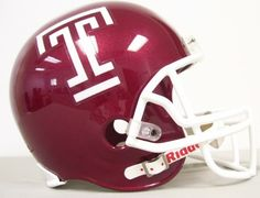 17...Temple owls Football helmet