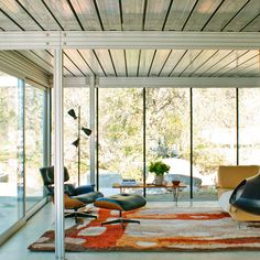 Think spare - Get a Mid-Century Modern Look - Sunset