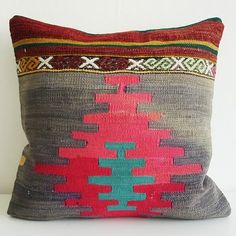Beautiful Southwestern pillow.  Love the beauty of the weave, texture and colors.