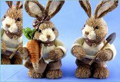 Veľkonočný zajac v svetríku, veľký