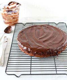 Imagen vía We Heart It https://weheartit.com/entry/141095653/via/24433827 #cake #food #chocolatetorte #flourless