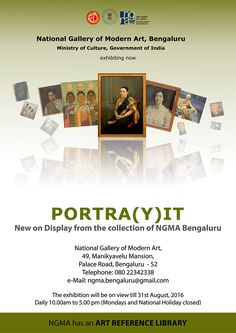"Exhibition ""PORTRA(Y)IT"" @ NGMA - http://explo.in/236MSbN #Bangalore #Exhibitions"