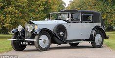 Lord Louis Mountbatten's 1929 Rolls Royce Phantom II Sedanca de Ville by Barker. Rolls Royce Phantom, Auto Rolls Royce, Louis Mountbatten, Vintage Cars, Antique Cars, Automobile, Old Cars, Car Pictures, Motor Car