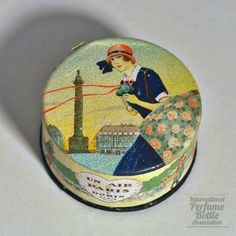 Dorin - Un Air de Paris - French face powder 1923