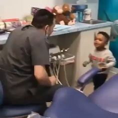 This needs to be the standard in pediatric healthcare. You shouldn't have an MD or a DDS after your name unless you've proven you know how to play with kids. gift hilarious Keep the magic alive!