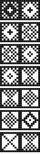 Charts for Traditional Sanquhar Knitting ****** c o o l b o o k m a r k ******