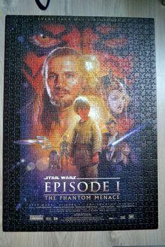 CADRE TABLEAU PUZZLE, STAR WARS EPISODE 1, 67,5X48CM, COLLECTION COLLECTIONNEUR