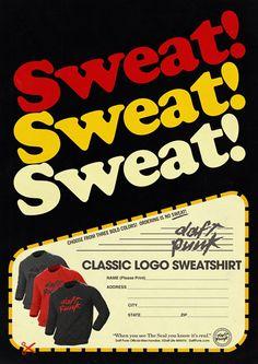 Daft Punk Embroidered Logo Sweatshirt