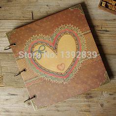 2015 NewNew Design 12 inch big photo album diy handmade Scrapbook Christmas Gift Sticky Type Scrapbook ** Visit the image link more details.