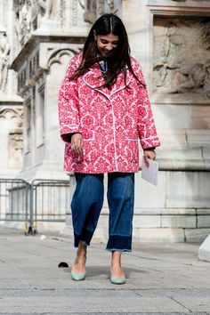 Street style and beautiful Milan architecture